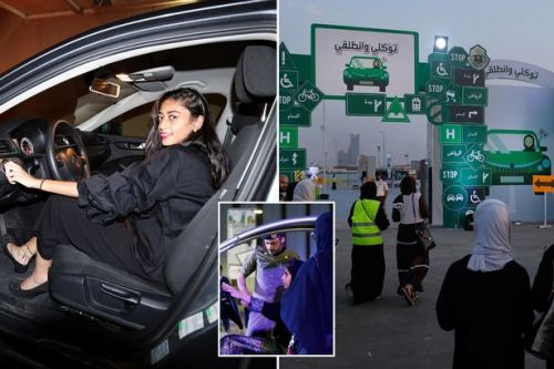 Saudi Arabia allows women to drive after decades-long ban on equal rights behind the wheel