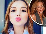 Lindsay Lohan unveils an Australian accent ahead of filming The Masked Singer