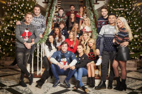 Love Island's Jack Fincham and Dani Dyer look loved-up in first pictures of 'tense' Christmas special