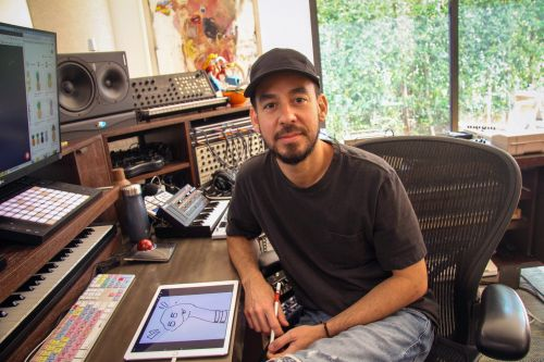 Linkin Park's Mike Shinoda explains how he used Twitch to create a new album with fan input and how musicians can make money on the livestreaming platform