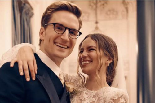 Oliver Proudlock weds Scots model Emma Louise Connolly in secret ceremony