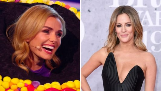 The Masked Singer's Katherine Jenkins pays tribute to Caroline Flack as she's unmasked as Octopus
