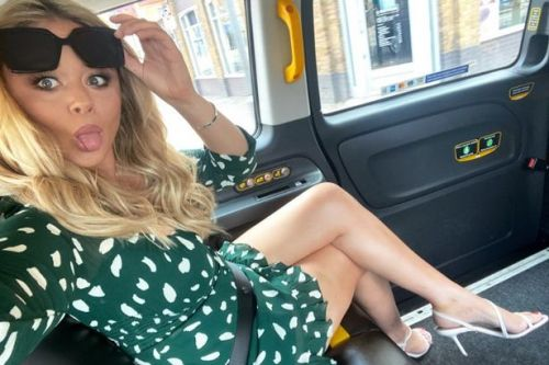 Emily Atack shows off stunning weight loss with leggy display in mini dress