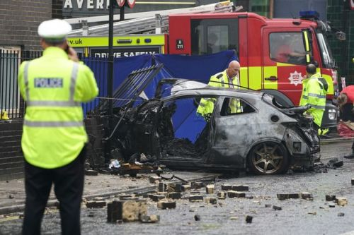 Dad's horror as he tried to save driver from blazing car before it became 'fireball'