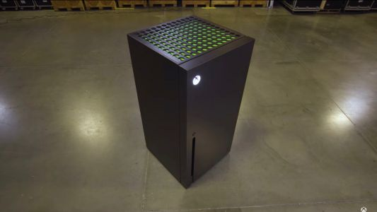 Microsoft Built an Xbox Series X Refrigerator, and It Can Be Yours