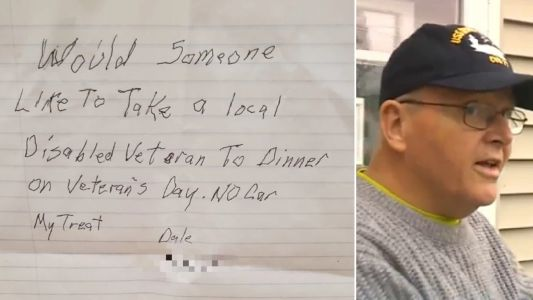 Disabled man, 63, was so lonely he posted heartbreaking ad offering to treat stranger to dinner