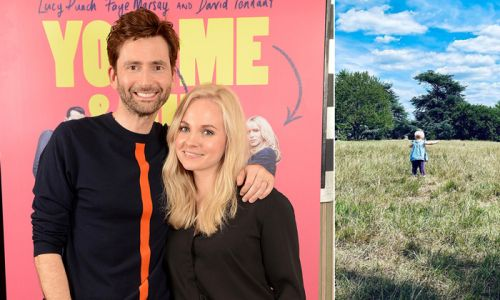 Georgia Tennant confuses fans with photo of daughter Birdie walking