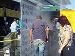 Mexico outdoor food market installs ozone-based sanitation tunnels to protect shoppers COVID-19