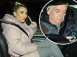 Dancing on ice: Phillip Schofield, Billie Faiers and Jason Donovan don't wear masks in cab