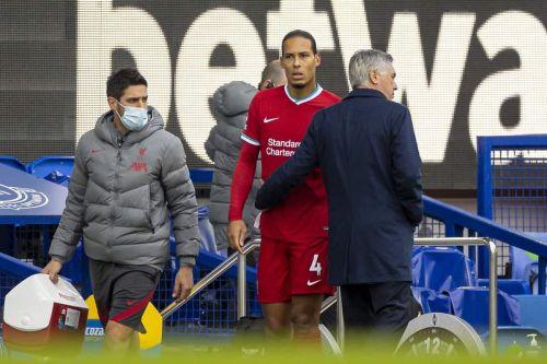 "Carlo Ancelotti ""really sorry"" for Virgil van Dijk injury - but Jordan Pickford criticism ""not fair"""