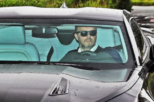 Ed Woodward at Man Utd training ground for Ole Gunnar Solskjaer talks