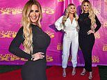 Kim Zolciak and Brielle Biermann wear black and white outfits at the Ultimate Women's Expo