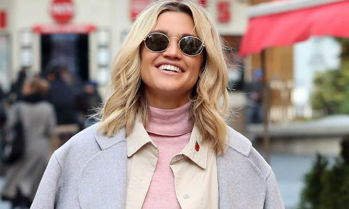 Ashley Roberts just made this classic Marks and Spencer suit look SO cool