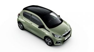 Peugeot 108 updated with fresh paint and new trim