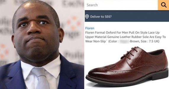 David Lammy calls out Amazon after N-word used to describe shoes