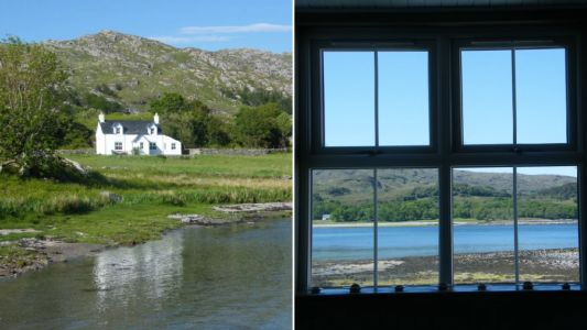 You can now stay in a remote Scottish cottage which is only accessible by boat