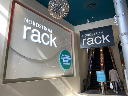 We compared the shopping experience at Nordstrom's and Bloomingdale's discount stores and while both were messy, the former was much more impressive