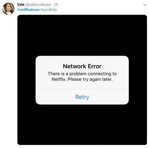 Netflix DOWN 'for hours' as frustrated viewers around the world take to Twitter to complain