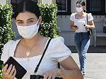 Lucy Hale exudes summertime chic as she steps out in LA