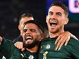 Italy 2-0 Greece: Azzurri book place at Euro 2020 finals after second-half strikes from Jorginho