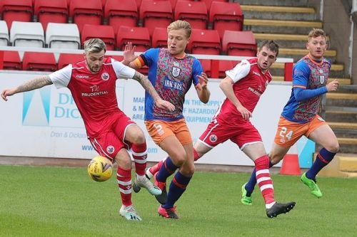 Stirling Albion boss and striker win SPFL League 2 monthly awards