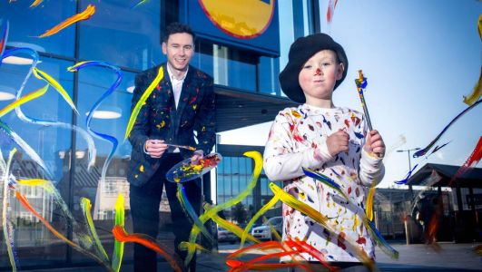 Lidl gives kids a chance to design shopping bag