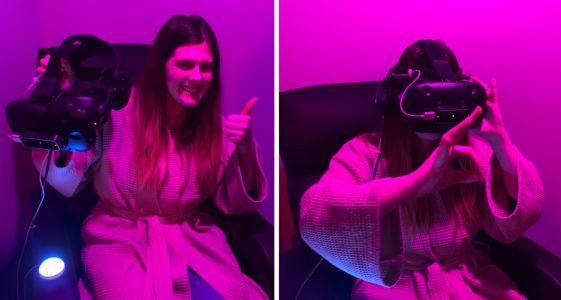 I visited an 'Oddly Satisfying' ASMR Spa - it felt like a cross between a children's museum and an alien spaceship
