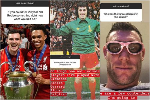 Andy Robertson picks LFC's worst singer, most skilful and funniest team-mate in hilarious Q&A