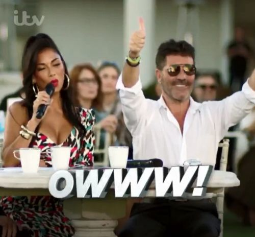 Nicole Scherzinger and Louis Walsh return as X Factor judges for celebrity special