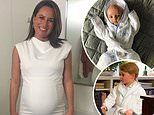 Nine's Jayne Azzopardi shares picture of newborn son in same personalised robe as Prince George