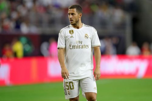 Eden Hazard forced into doing bizarre thing during Real Madrid debut
