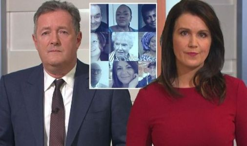GMB viewers in tears as Piers and Susanna pay tribute to 100,000 who died of Covid