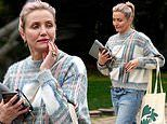 Cameron Diaz spotted for first time since welcoming baby daughter Raddix with hubby Benji Madden