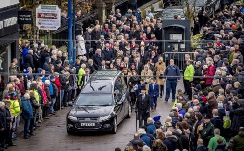 Coleraine gives Harry Gregg a send-off fit for the hero he was