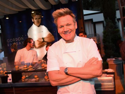 In a Parallel Version of 2020, Gordon Ramsay Drops an £80 Wagyu Burger at Harrods