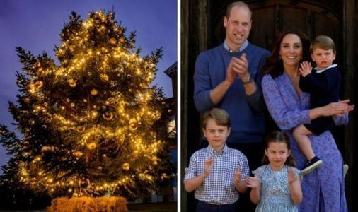 George, Charlotte and Louis to be treated to HUGE Christmas tree -bigger than average home