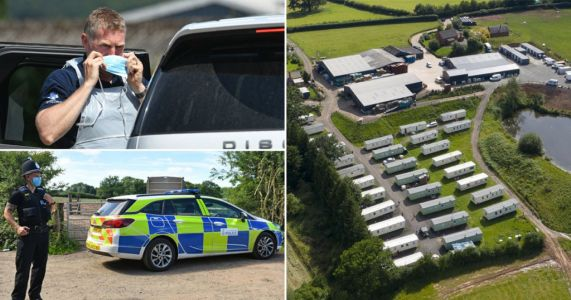 Three workers 'escape' Herefordshire farm where 73 tested positive