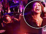 Carrie Ann Inaba hilariously FALLS after she misses her chair on Dancing With The Stars
