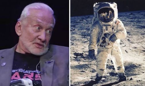 Can't tell you about that' Buzz Aldrin's Moon landing secret exposed during interview