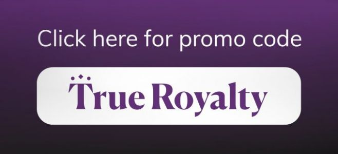 True Royalty offering 50% off subscription service