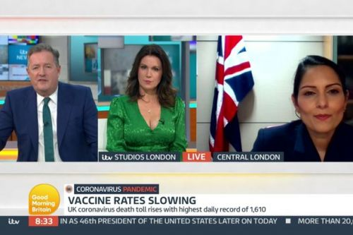 Piers Morgan goes in on floundering Priti Patel in car-crash GMB exchange