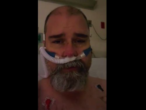 'You don't want to end up like me': Florida man begs people to wear masks in a heartbreaking video from his hospital bed