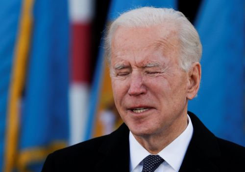 Joe Biden breaks down and sobs over late son Beau as he leaves home for the White House