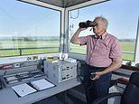 Grandfather, 82, takes over old airfield and turns it into international airport in West Wales