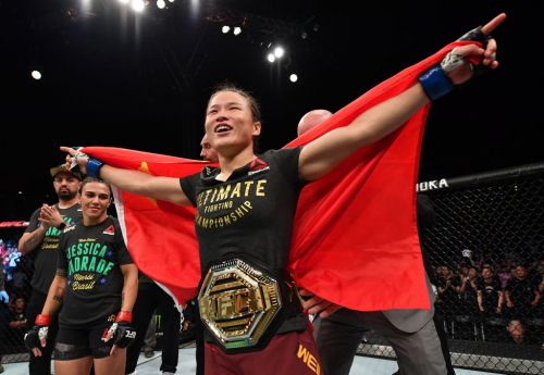 Zhang Weili unmoved by Rose Namajunas comments as she addresses 'disrespectful' Valentina Shevchenko