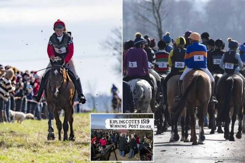 Welcome to the world's OLDEST horse race - first run in Henry VIII's time