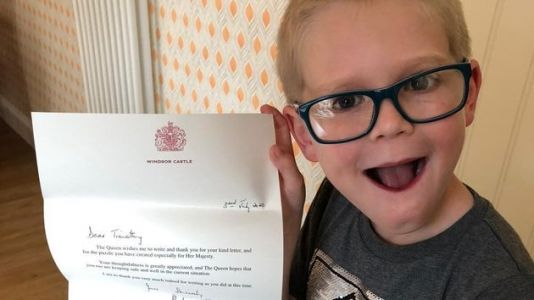 A 7-Year-Old Sent The Queen A Word Search Incase She Was 'Sad Or Lonely'