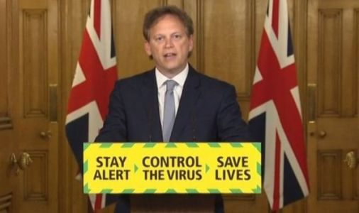 Shapps makes face masks mandatory on public transport or Britons will be REFUSED travel