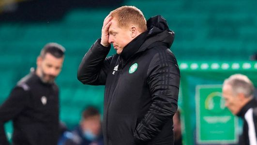 'It doesn't feel good': Neil Lennon hears fans gathered at Celtic Park to call for manager's departure ahead League Cup defeat to Ross County