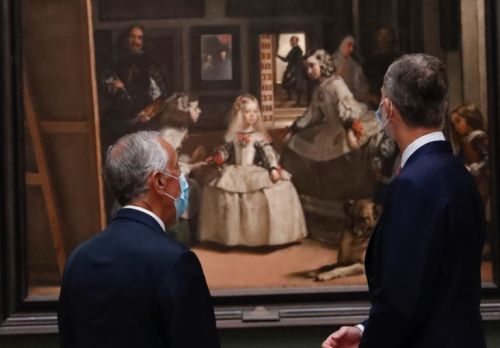 King Felipe of Spain heads to the past as present challenges continue